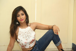Deekshita Parvathi in a short crop top and Denim Jeans Spicy Pics Beautiful Actress Deekshita Parvathi January 2017 CelebxNext (168).JPG