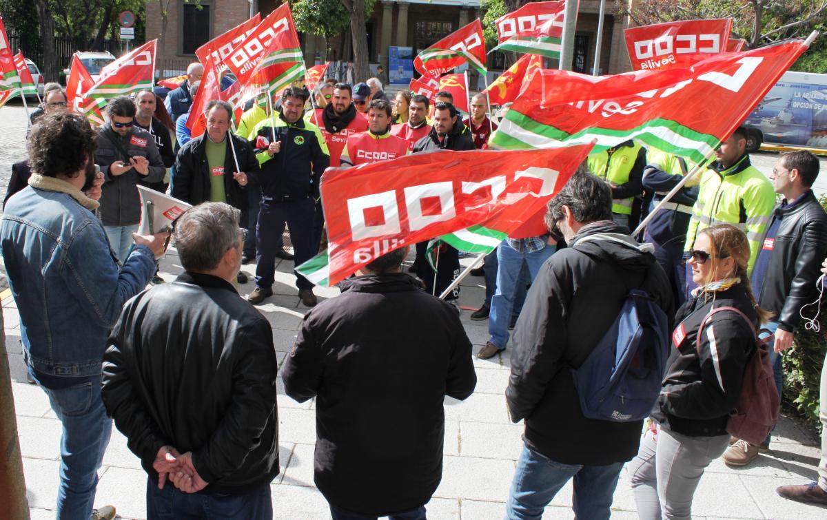 Gel n noticias comisiones obreras exige que se garanticen condiciones de trabajo dignas y que - Trabajo en el puerto ...