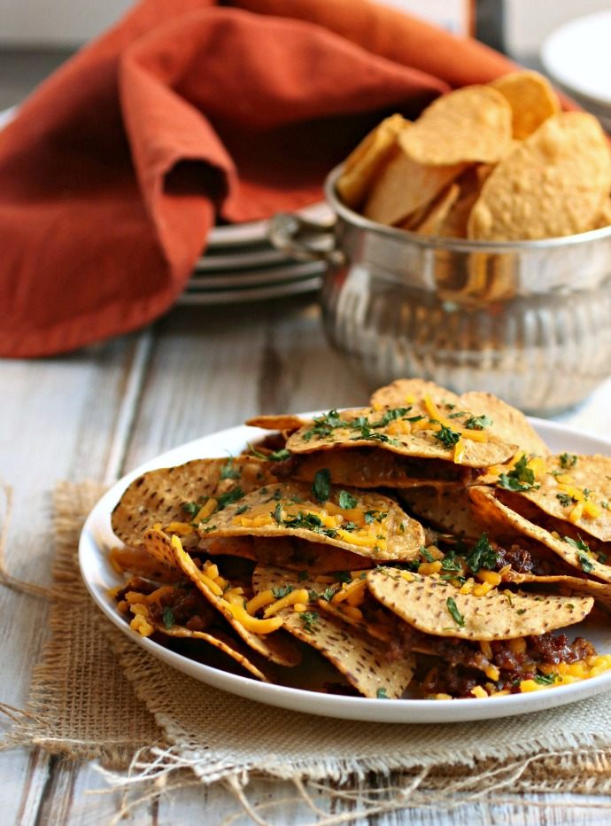 Chorizo and Cheddar Snack Stacks
