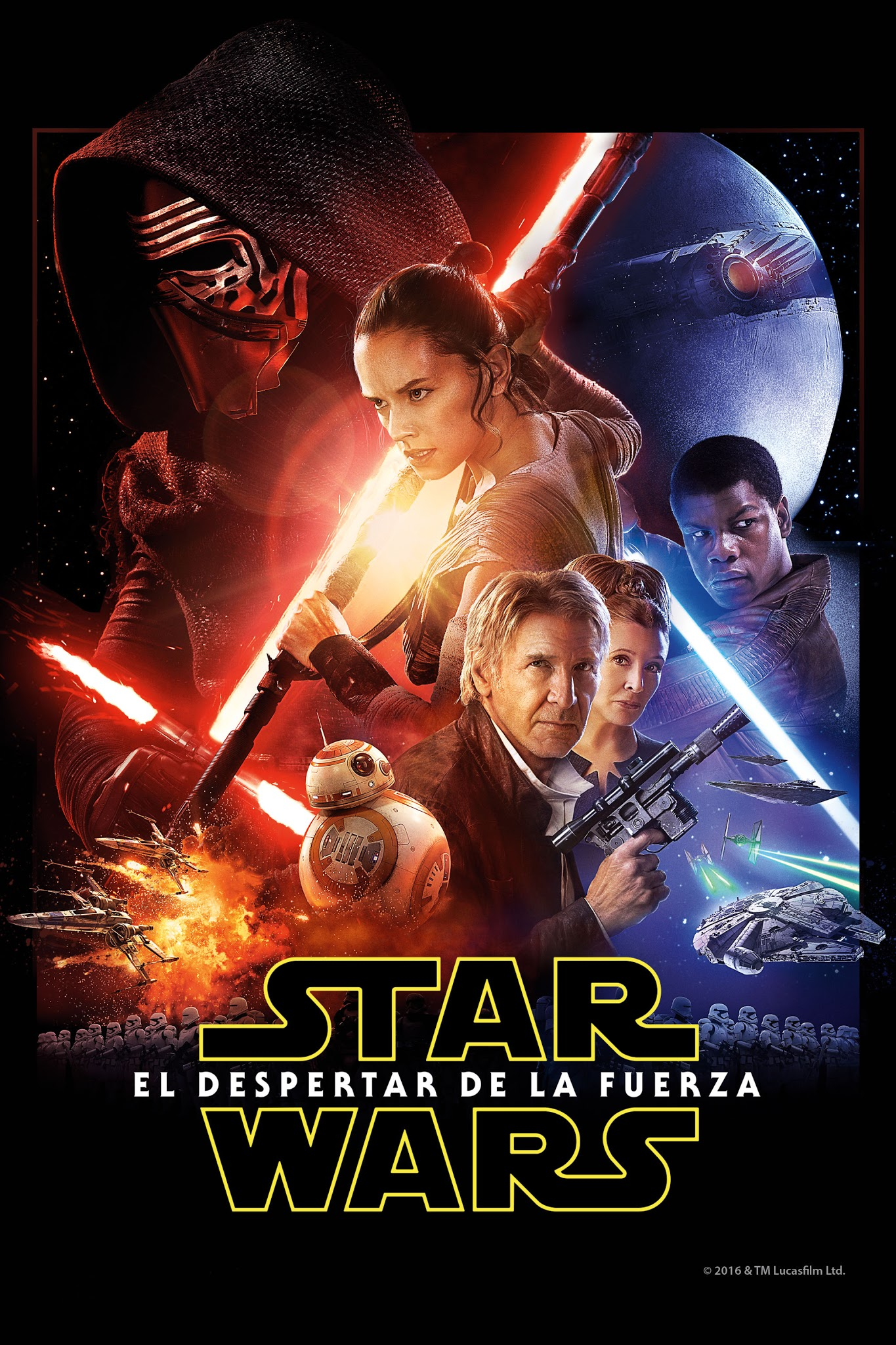 Png De Películas! Cover De Star Wars  El Despertar De