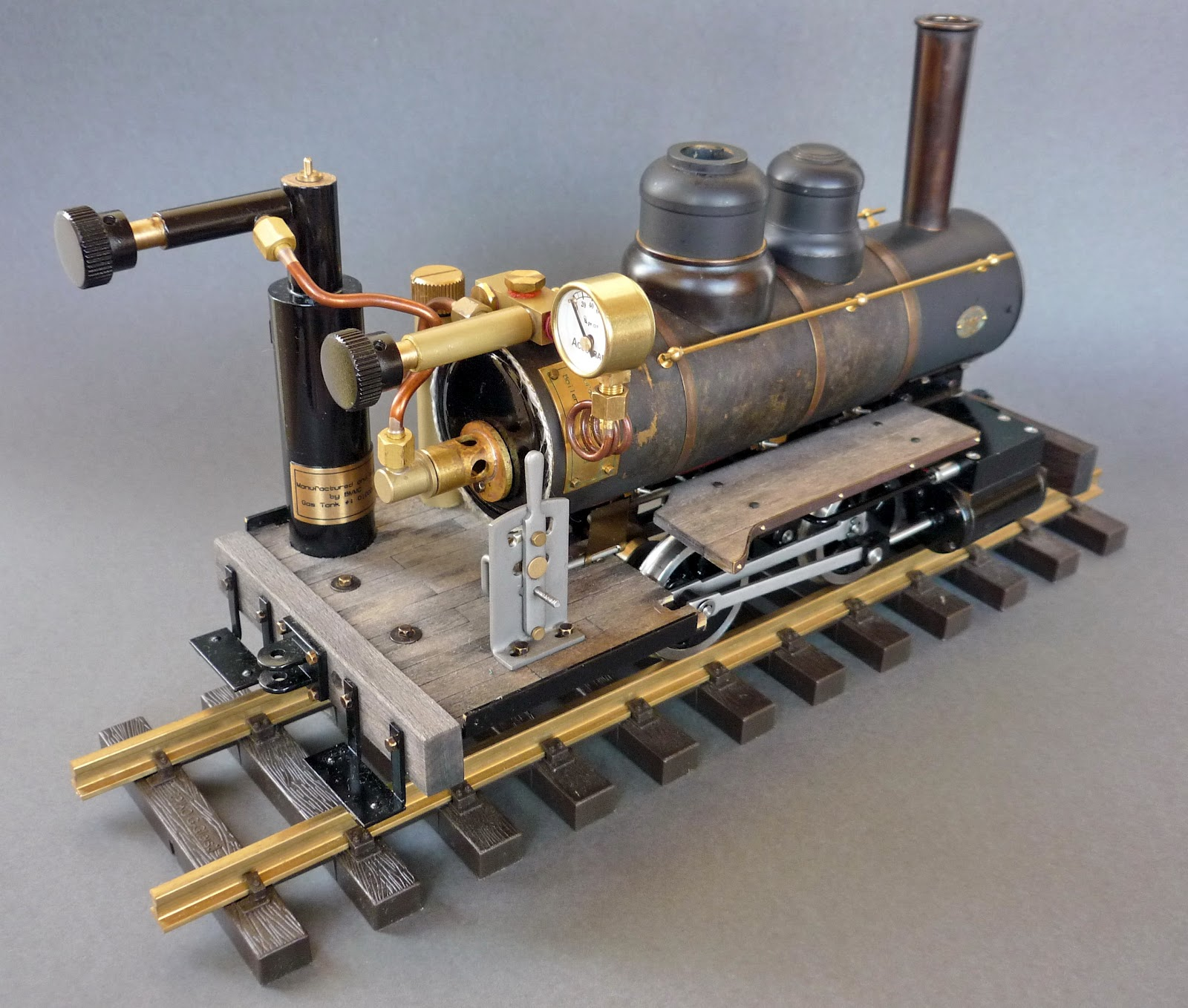 Thomas Workbench Accucraft Ruby Live Steam Locomotive