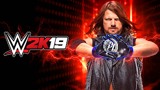 WWE 2K19 Cover Wallpaper