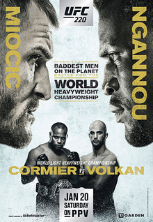 Review of UFC 220 pay-per-view Miocic vs Ngannou