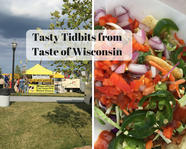 Tasty Tidbits from Taste of Wisconsin in Kenosha, Wisconsin