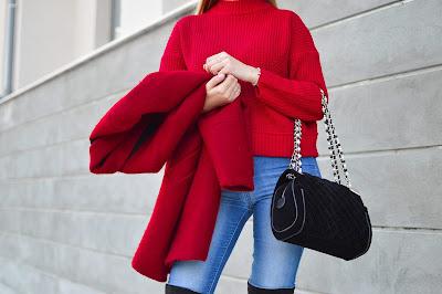 modefarbe rot