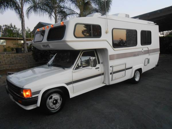 Used RVs Completely Redone, 1987 Toyota Sunrader For Sale ...