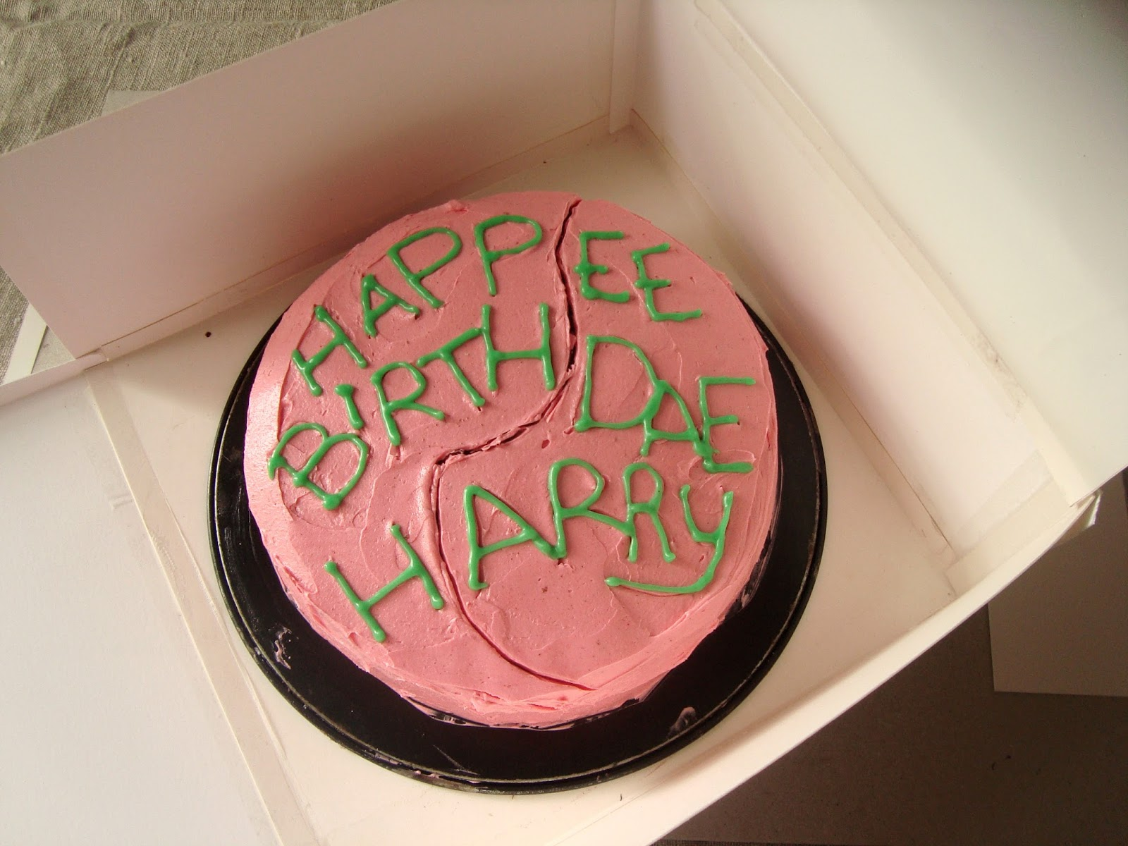 Craft Marmalade Harry Potter Birthday Cake Chocolate