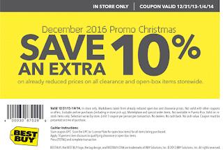 Best Buy coupons december 2016