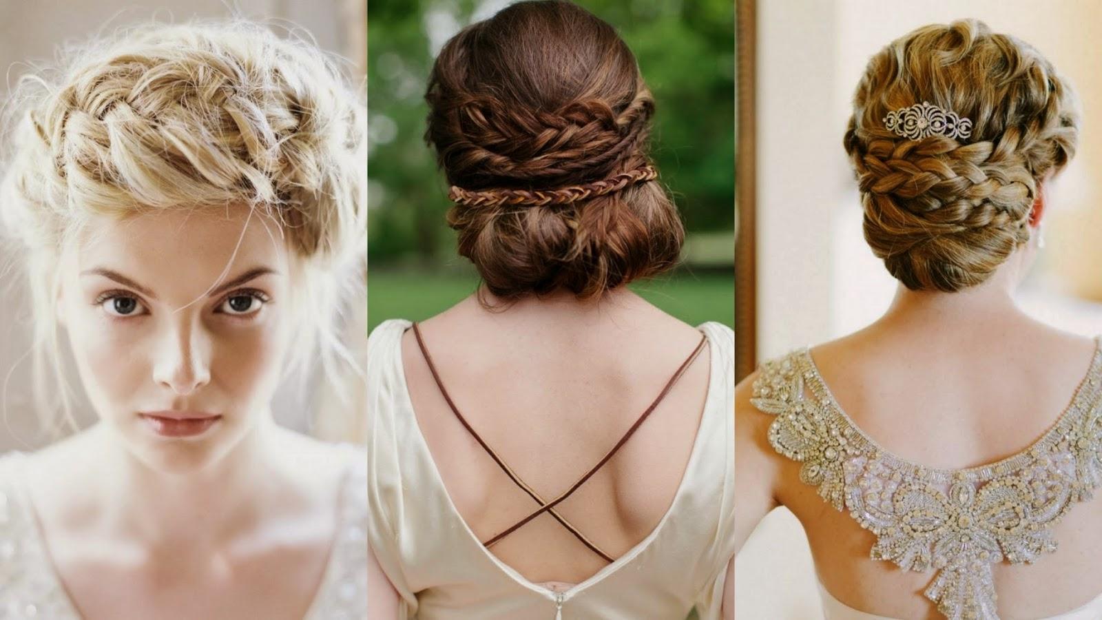 Estilos De Peinados Para Vestidos Cortos