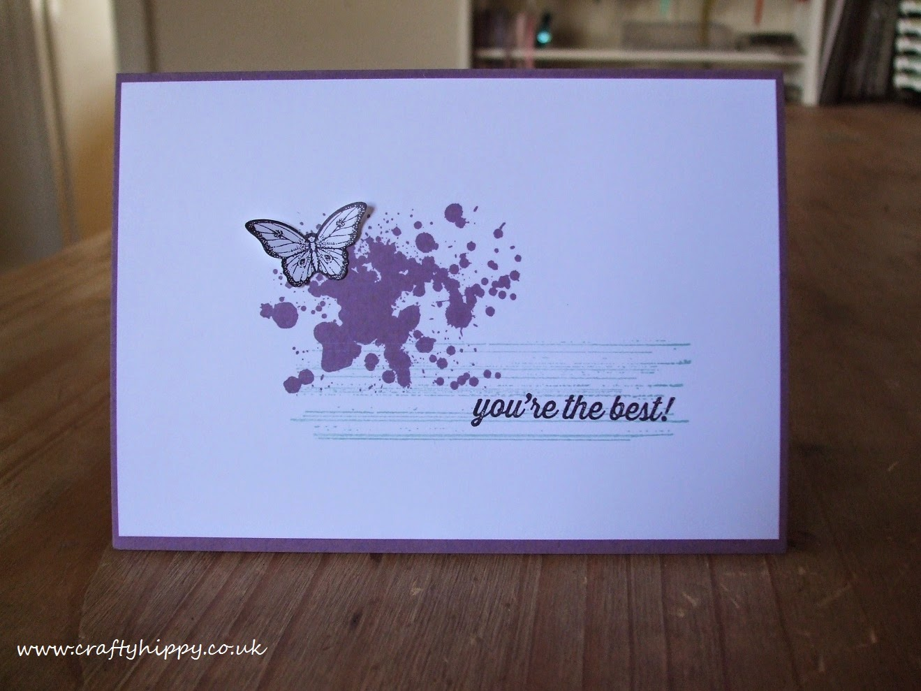 Stampin' Up! Gorgeous Grunge, Papillon Potpourri
