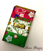 Recycled Deco Print Bobby Pin Storage Container