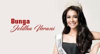 Biodata Bunga Jelitha Ibrani Puteri Indonesia 2017