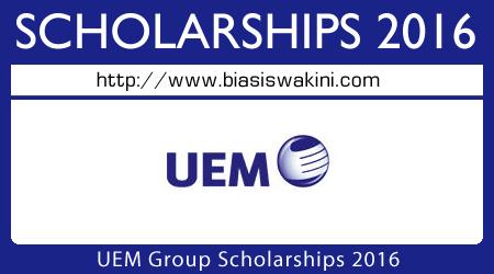 UEM Scholarship 2016