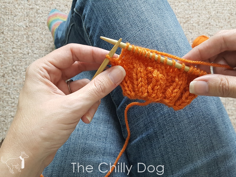 Knitting Tutorial Wrap And Turn Short Row Heels The Chilly Dog