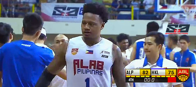 Alab Pilipinas def. Hong Kong Eastern Long Lions, 82-75 (REPLAY VIDEO) March 19