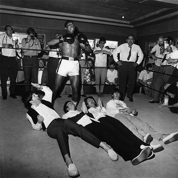 La rencontre historique entre Mohamed Ali et les Beatles