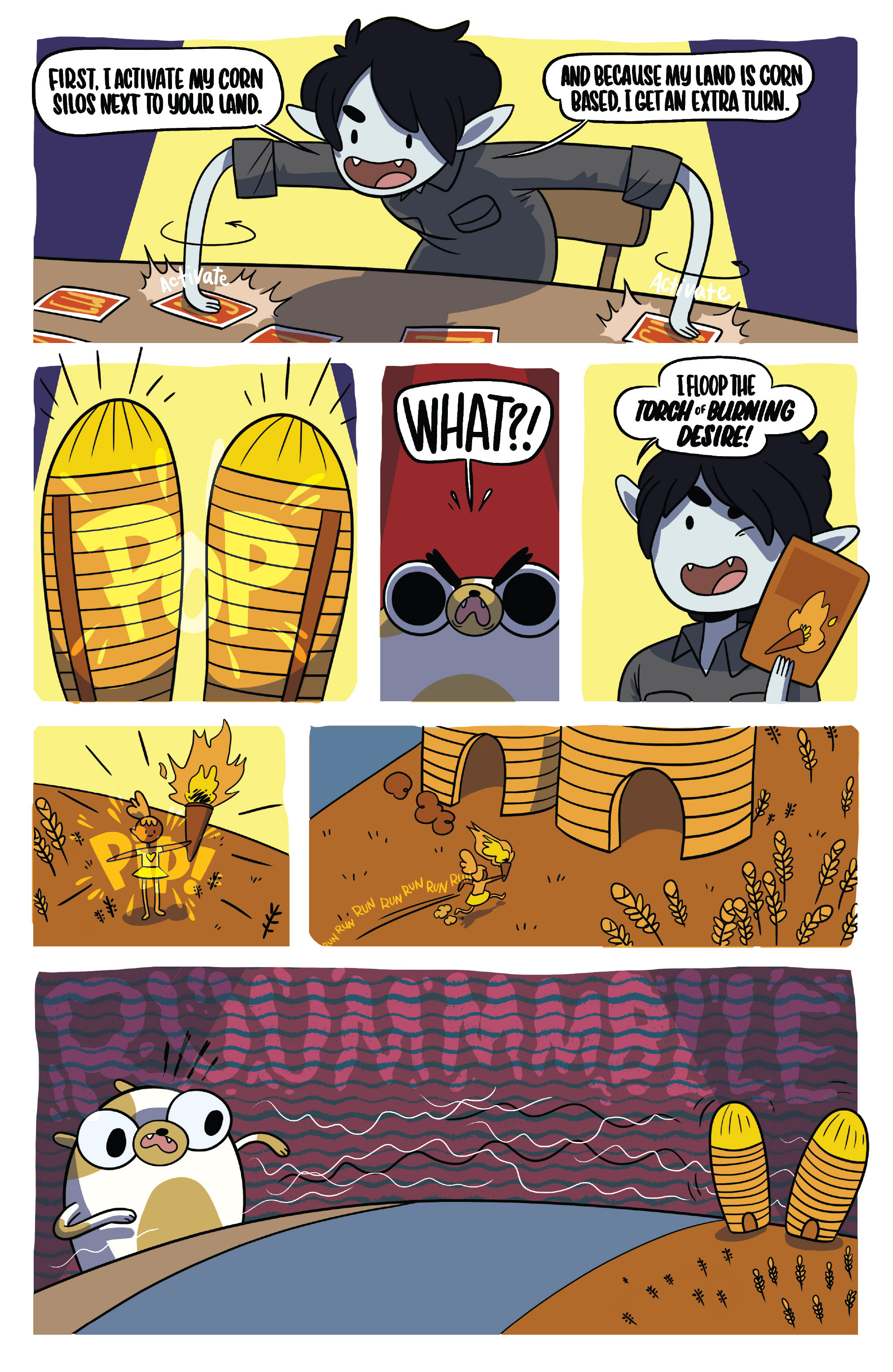 Read online Adventure Time Fionna and Cake Card Wars comic -  Issue #4 - 23