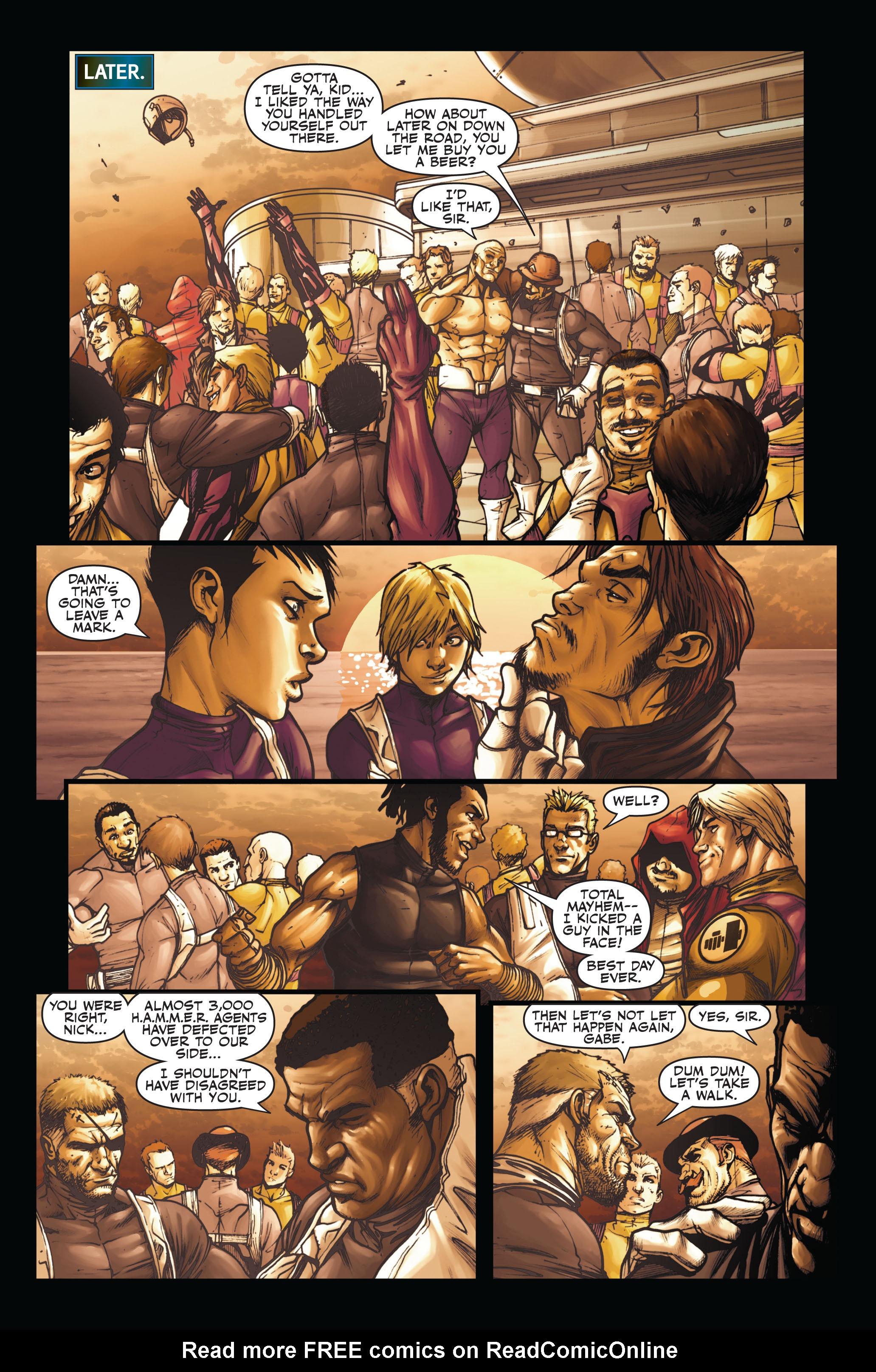 Read online Secret Warriors comic -  Issue #6 - 17