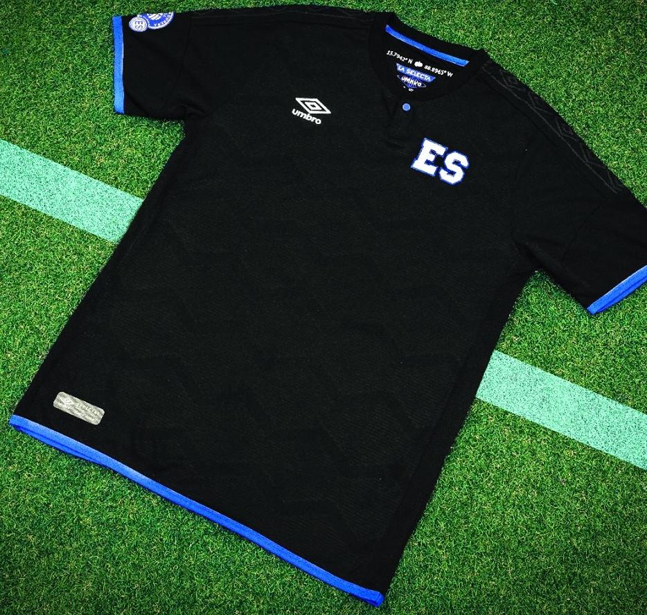 Umbro lança a nova terceira camisa de El Salvador - Show de Camisas db3b87b5e2477