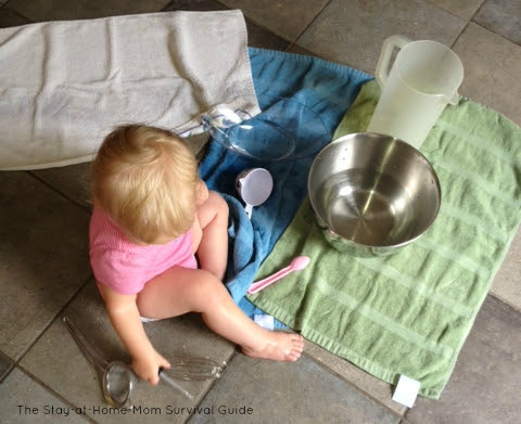 Simple Tips for Water Play Indoors