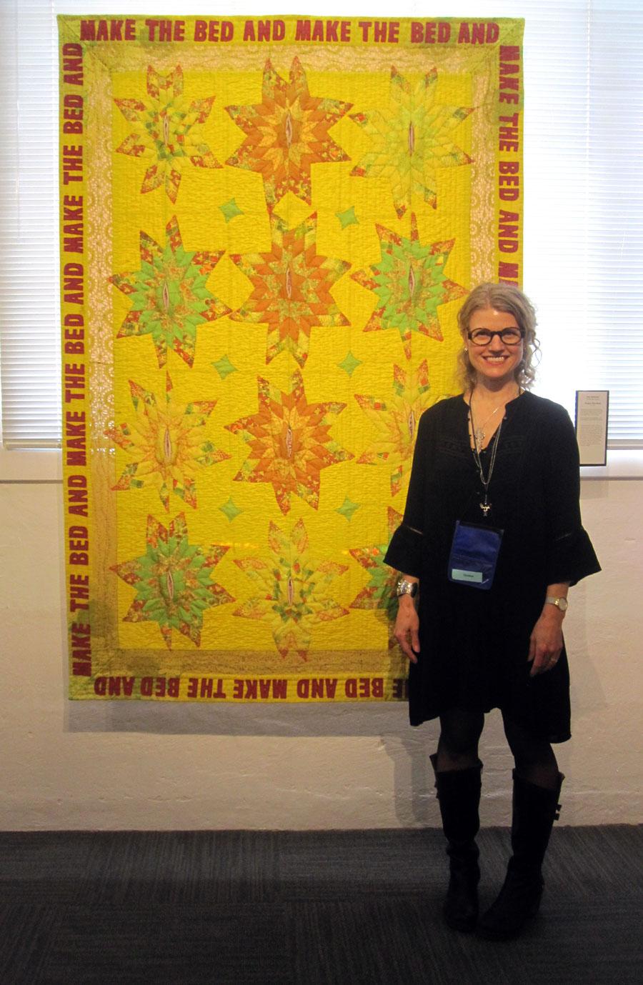 Judy's Journal: quilt national 17 with live interviews : quilt national - Adamdwight.com