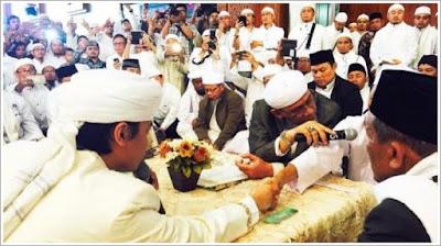Akad Nikah Anak KH Arifin Ilham