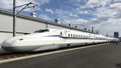 A Central Japan Railway vem testando o modelo N700S desde 2018