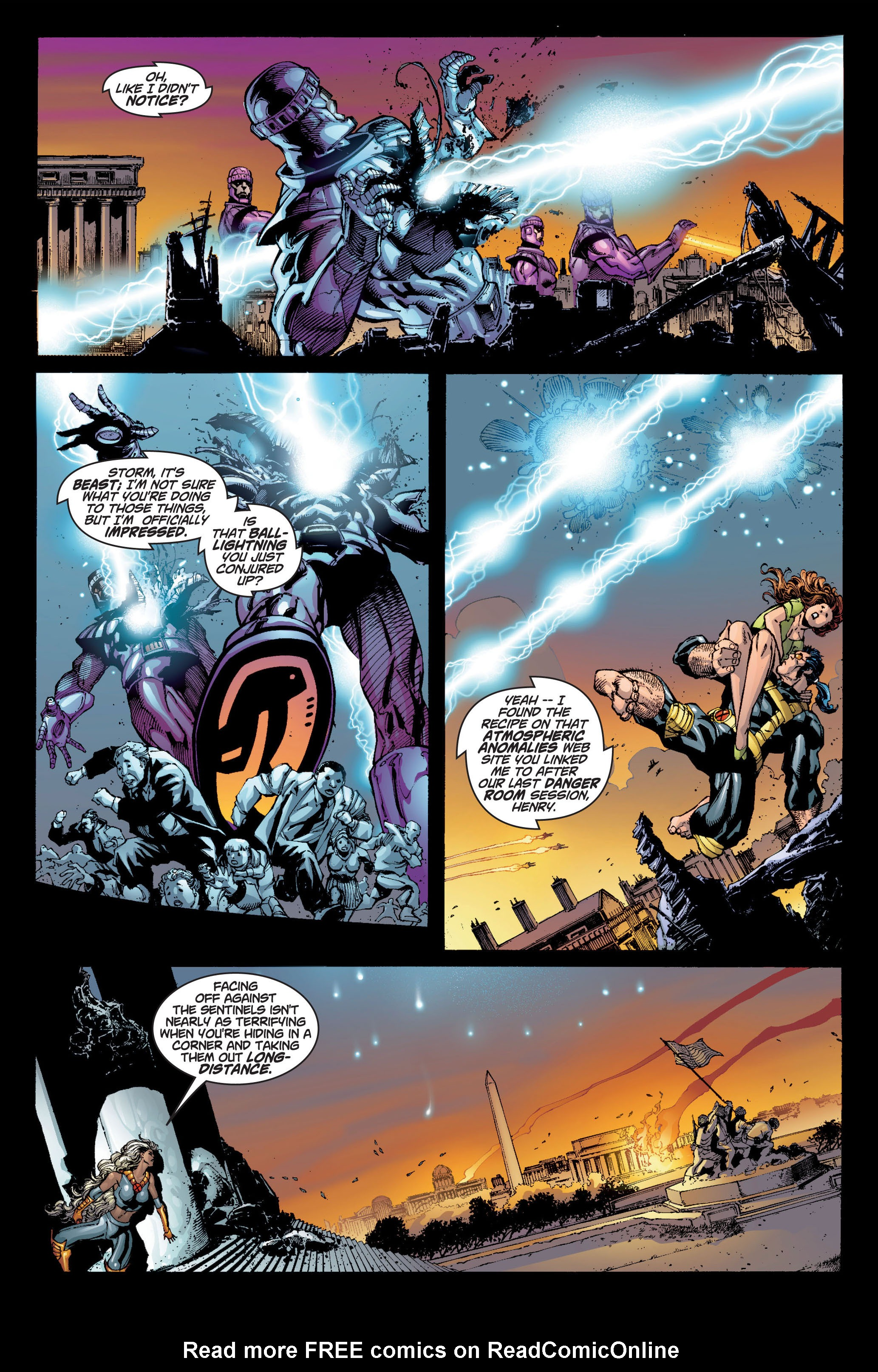 Read online Ultimate X-Men comic -  Issue #6 - 8