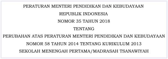 Download Permendikbud No