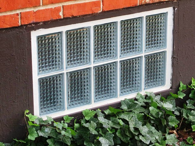 How to Install GLASS Block WINDOWS in Basement