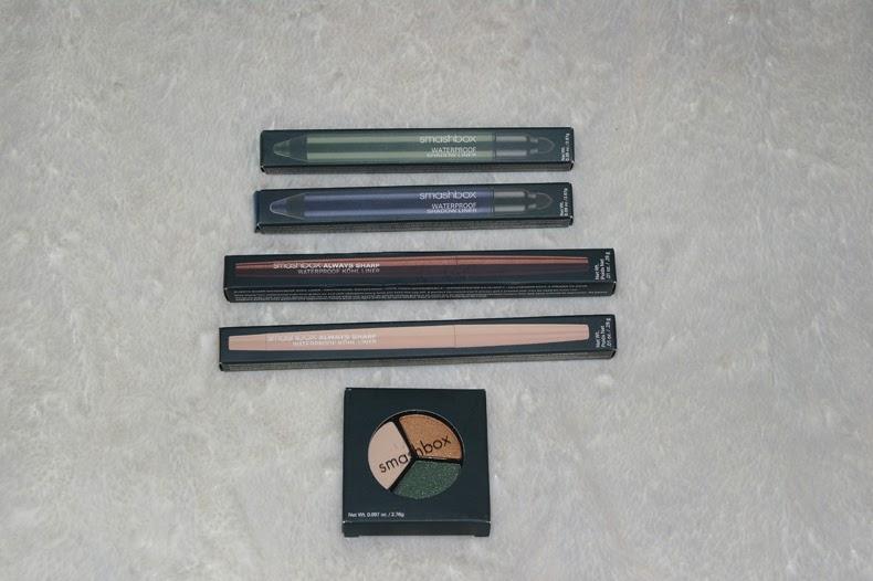 Smashbox Cosmetics Haul Waterproof kohl eyeliner and eyeshadow trio