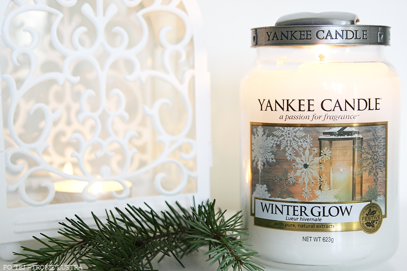 yankee candle winter glow w illumie