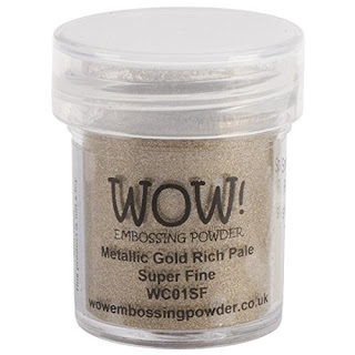 Metallic Gold Embossing Powder
