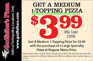 free Godfathers Pizza coupons for march 2017