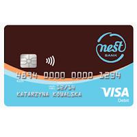 Karta płatnicza do konta Visa Nest Bank