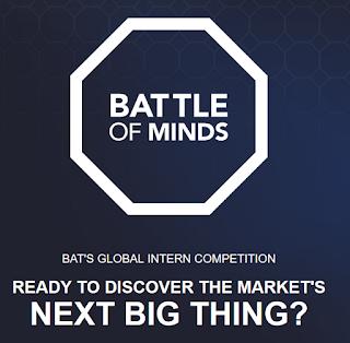 BAT Battle of Minds Global Intern Competition 2018