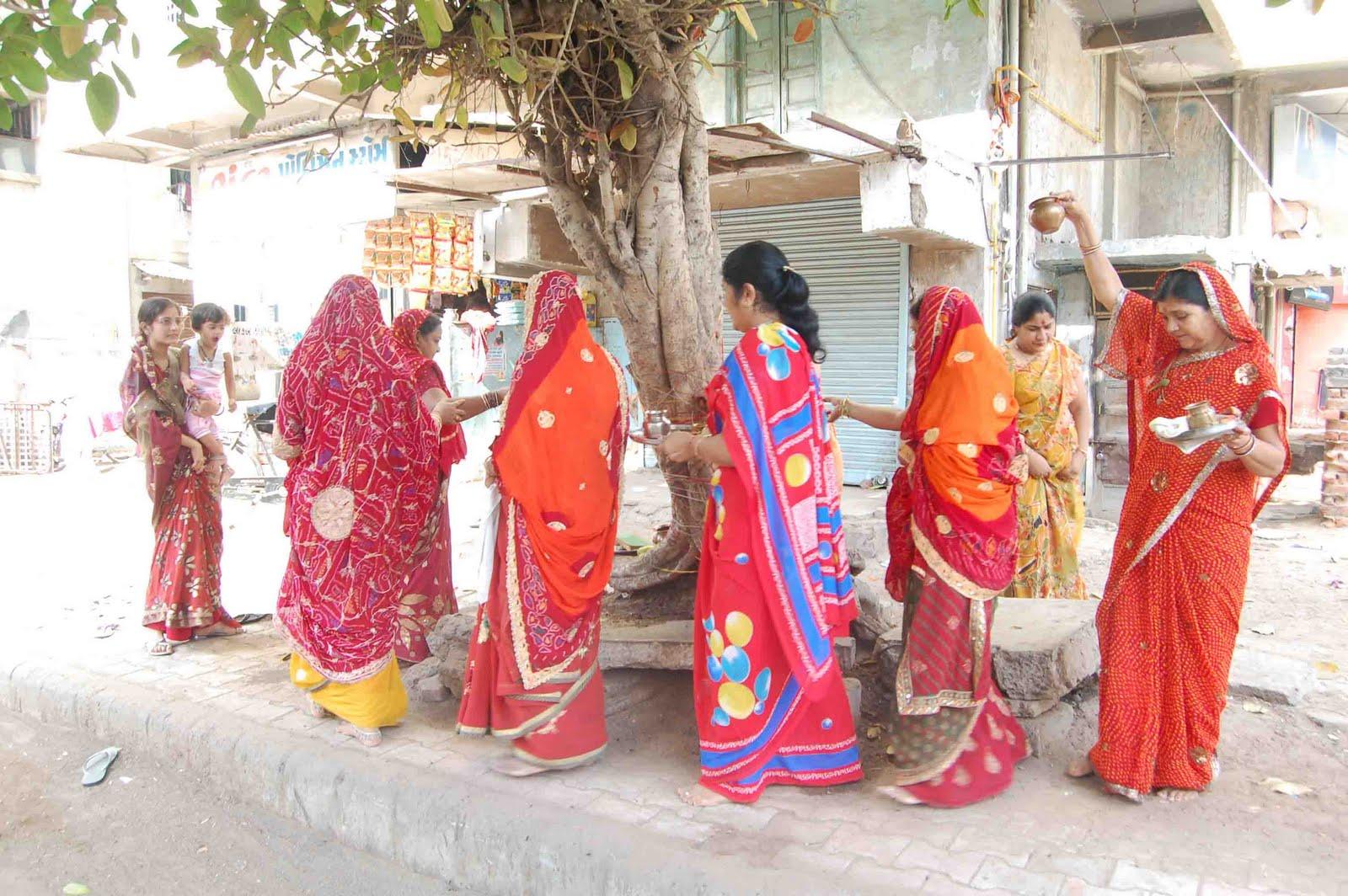 Savitri Savitri Married Gg: Krishna Sharanam: Vat Savithri Amavasi Vrat Observed In