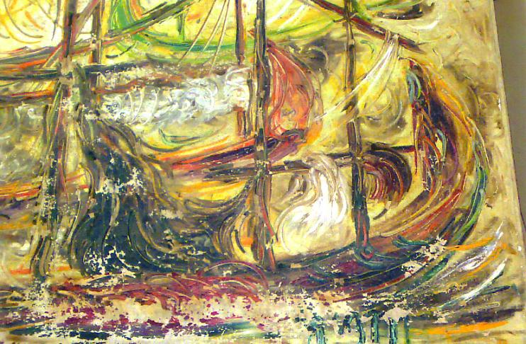 bianglala Lukisan Affandi