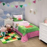 Dormitorio temático Peppa pig