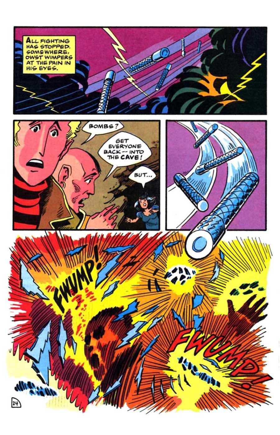 Read online Mars comic -  Issue #9 - 26