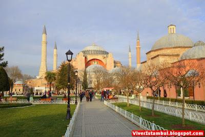 Hagia Sophia em Istambul