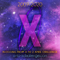 #AtoZChallenge 2020 Blogging from A to Z Challenge letter X