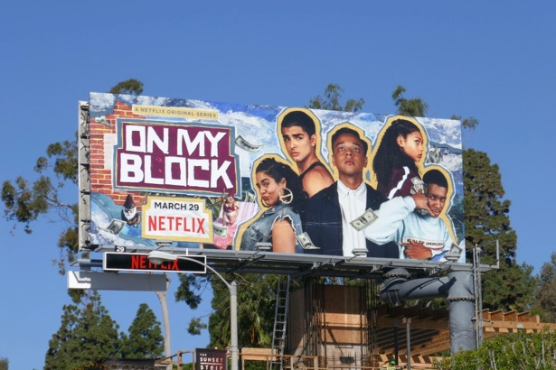 On My Block season 2 billboard