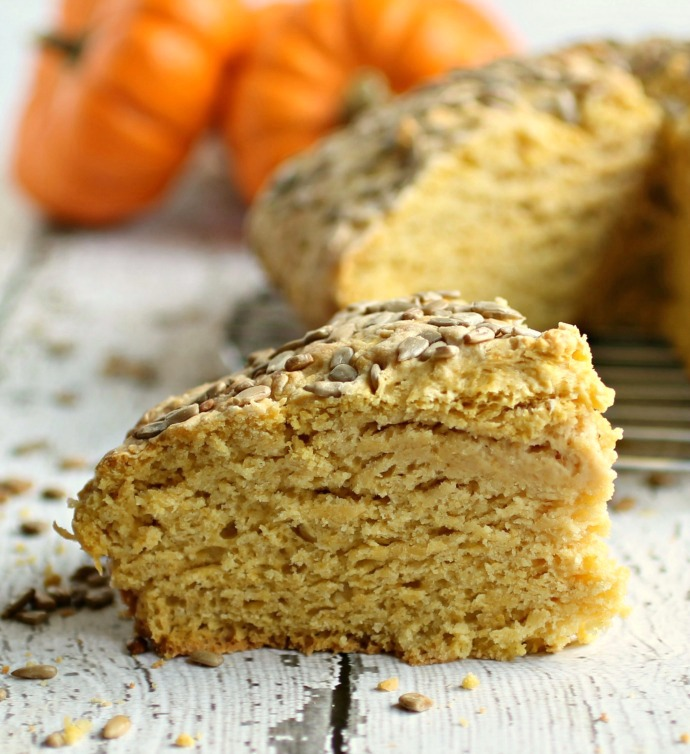 Pumpkin Soda Bread