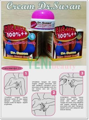 Pijat payudara Cream Dr. Susan