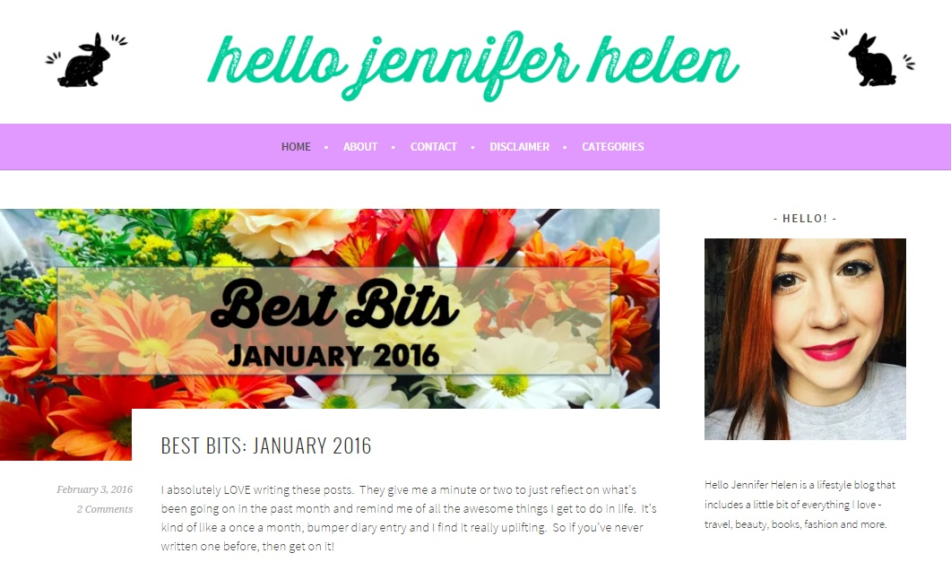 6 Blogs To Indulge In This Weekend Hello Jennifer Helen