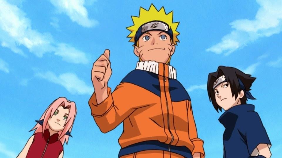 Sakura, Naruto y Sasuke