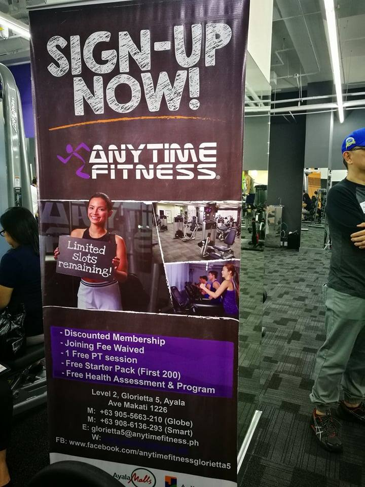Lemon GreenTea: Anytime Fitness, the world's number one, largest