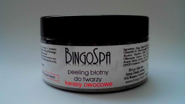 BingoSpa, peeling błotny z kwasami owocowymi