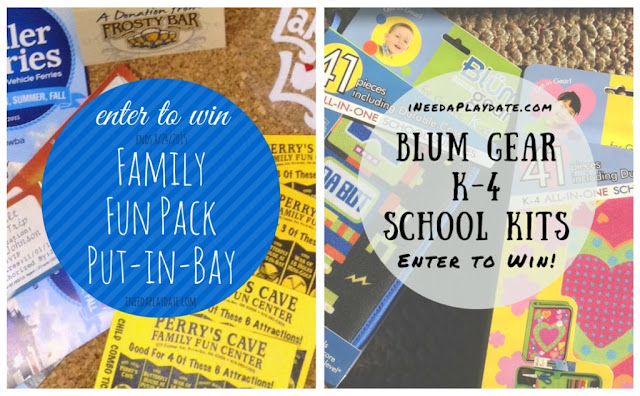 Two Sweepstakes from Miller Ferry and Blum School Gear